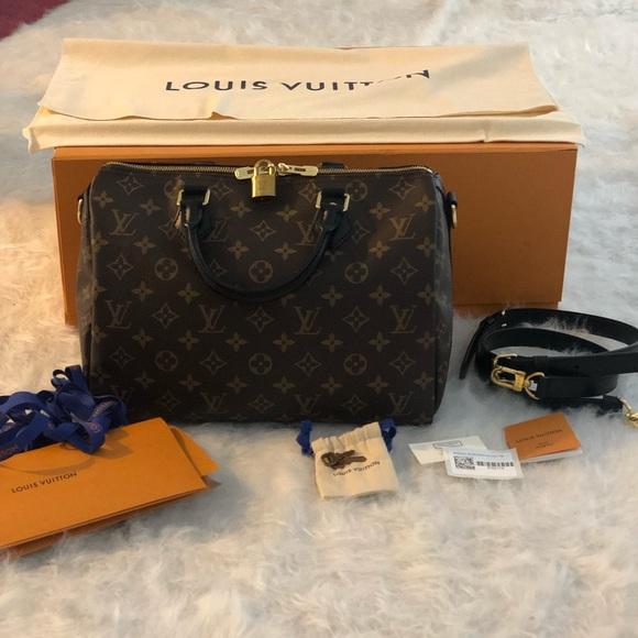 Louis Vuitton Handbags - LOUIS VUITTON My World Tour Speedy Bandouliere 30